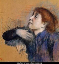 Bust of a Woman    Edgar Degas