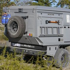 Ossewa Camper For travel, offroad and family Offroad, Shipping Container Workshop, Ute Canopy, Overland Trailer, Adventure Campers, Off Road Camper, Campervan Interior, Truck Camping, Expedition Vehicle