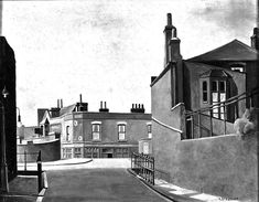 The Bridge House, Tredegar Road, Harold Steggles East End London, Old London, London Art, Group Photography, Photography Words, Urban Landscape, Landscape Art, Invention Of Photography, Bow Art