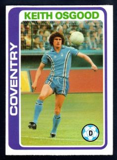 TOPPS FOOTBALLERS-PALE BLUE-1979-KEITH OSGOOD-COVENTRY CITY No.133