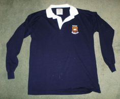 Men's Blue, White OFFICIAL OXFORD UNIVERSITY Rugby Embroidered Shirt, Size XL #OXFORDUNIVERSITYCAMPUSSTORES #PoloRugby