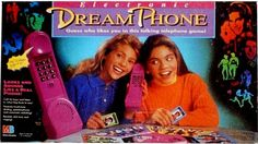 """dream phone. hayyyy!!! I never really played just dialed all the numbers. """"you're right I really like you."""""""