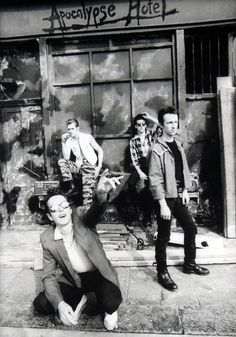 #TheClash photographed by Pennie Smith