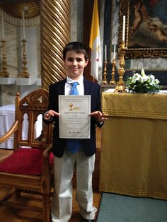 Charlie's First Communion