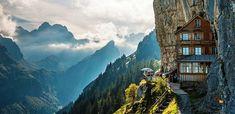 Berggasthaus Aescher - mesés menedékház a svájci Alpokban - Világutazó