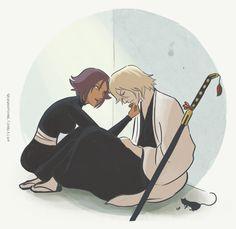 Bleach - Kisuke Urahara x Yoruichi Shihoin - UraYoru