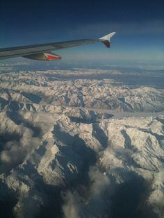 Enjoy the magnificent views when you fly over the southern alps to Queenstown Airport.