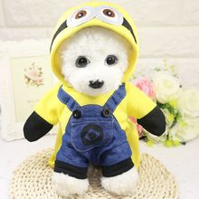 Hot Winter Dog Coats Cotton Wear Autumn Jackets Cosplay Costume With Cap Chihuahua Pets Coats Small Pets Clothes Free Shipping