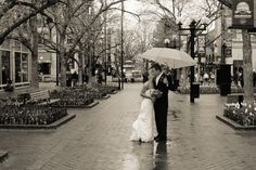 Pearl Street Mall is a beautiful place for all your big day festivities.  Photo by: Jeff Gray Photography
