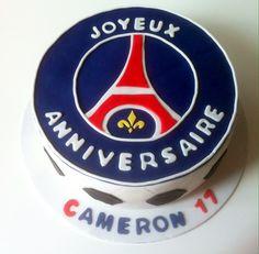 Gâteau anniversaire foot PSG