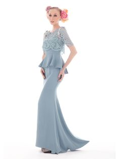 Dress inspiration 2012 from InnaiRED Fashion Now, Suit Fashion, Fashion Dresses, Kebaya Dress, I Dress, Long Dress Design, Bridesmaid Dresses, Wedding Dresses, Lace Dresses