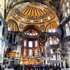 Hagia Sophia (537), originally a basilica, then mosque and now museum #architecture #archdaily #istanbul #turkey #museum #instagood #iphonesia