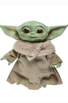 The Force is adorable with this one! Hasbro is coming out with a The Child (aka Baby Yoda) talking plush figure, and it's hella cute. The Mandalorian character Yoda Images, Yoda Drawing, Star Wars Decor, Star Wars Merchandise, Star Wars Images, Star Wars Baby, Baby Groot, Best Kids Toys, Pokemon Cosplay