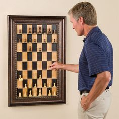 A vertical chess set is brilliant. Those who are owned by cats can appreciate this.