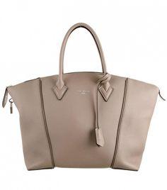 Louis Vuitton Soft Lockit MM Tote