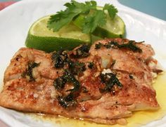 Redfish with Cilantro Lime Butter Sauce-Best fish recipe I have ever made. This salt baked fish recipe is fish crusted in salt and slid in the oven and baked until moist and tender and perfect. Redfish with. Best Fish Recipes, Seafood Recipes, Favorite Recipes, Healthy Dessert Recipes, Paleo Recipes, Cooking Recipes, Yummy Recipes, Yummy Yummy, Sauce Recipes