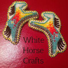 white horse crafts. amazing work