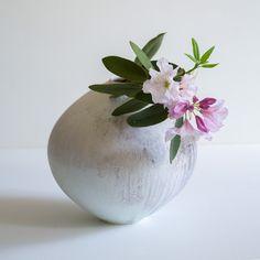Barbaric White Vase J