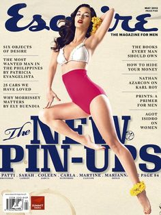 Esquire Philippines, nice vintage feel