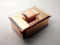 Boite Miroir Art Déco Art Deco Mirror Box Design & Stil