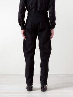 Mugler straight trouser #wonderfulstore