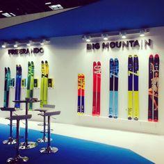 proud to present our new 15-16 range at ISPO 2015 in Munich ! #zagskis #zag #skis #chamonix #ispo #munich #ispo2015 #freeride #freeski #freerando #newrange #newco #newcollection #skigear