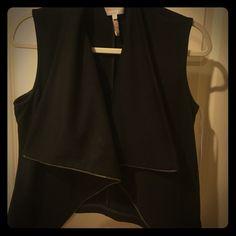 Laundry Black Vest Laundry Black Vest - Size L Laundry by Shelli Segal Jackets & Coats Vests