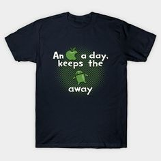 An Apple A Day, Keeps The Android Away Unisex T-Shirt