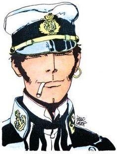 Corto Maltese - Hugo Pratt #fumetti #disegni #arte #personaggi