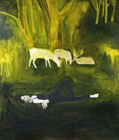 blastedheath:  Hrvoje Majer (Croatian, b. 1975), The Life He Lost, 2008. Oil on canvas, 190 x 170cm.