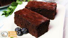 BROWNIE RECEPT VIDEÓVAL - brownie készítése Brownies, Food Categories, Mayonnaise, Pies, Biscuits, Japanese Cheesecake, Irish Recipes, 3 Ingredients, Chocolate Cakes