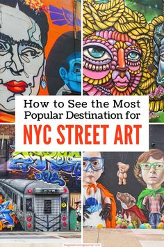 Want to explore the most popular NYC street art destination? Spend time with Brooklyn Unplugged admiring some of the best street art in New York City & the world! Best Travel Guides, Usa Travel Guide, Travel Usa, Travel Tips, Nyc Hotels, Best Street Art, Us Travel Destinations, Us Road Trip, New York City Travel