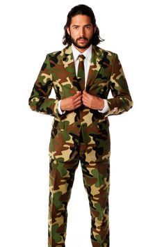 The Rogue Gentleman Camo Dress Suit