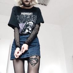 Grunge outfit inspirations — punkfashion-butnotreally: should we surround. Hipster Outfits, Grunge Outfits, Teen Girl Outfits, Edgy Outfits, Fashion Outfits, Fashion Fashion, Fashion Online, Fashion Ideas, Alternative Outfits