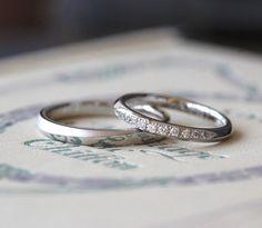 プラチナのマリッジリング(オーダーメイド/手作り) [結婚指輪,ウェディング,ブライダル,marriage,wedding,ring,bridal,Pt900,ダイヤモンド,diamond,プラチナ]