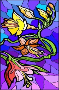 Flowers Window Decorative Window Film