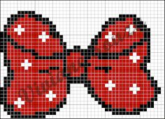 Red bow x-stitch Xmas Cross Stitch, Cross Stitch Pillow, Cross Stitch Boards, Cross Stitch Baby, Cross Stitching, Disney Cross Stitch Patterns, Counted Cross Stitch Patterns, Cross Stitch Designs, Cross Stitch Embroidery