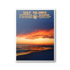 Gulf Islands National Seashore Poster