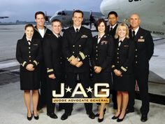 JAG: My very favorite show of all time....that Harmon Rabb...America's hero!
