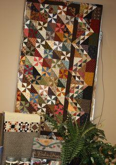 Scrap quilt @ Temecula Quilt Co.