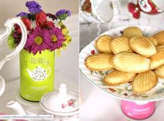 Tea Party Bridal Shower Ideas - Celebrations at Home