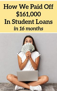 How We Became Debt Free – Including Our Mortgage – By 30. How We Paid Off $161,000 In Student Loan Debt in 16 Months #debtfree #debtfreejourney Make More Money, Ways To Save Money, Extra Money, Student Loan Payment, Student Loans, High Yield Savings Account, Mortgage Payment, Get Out Of Debt, Money Today