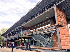 Edificio Recicla, el primer edificio 100% reciclado de América Latina.