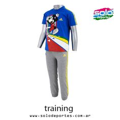 Conjunto I Diq Mickey Bebe Francia/Gris/Amarillo  Marca: Adidas 100020X29617001   $ 349,00 (U$S 61,21)