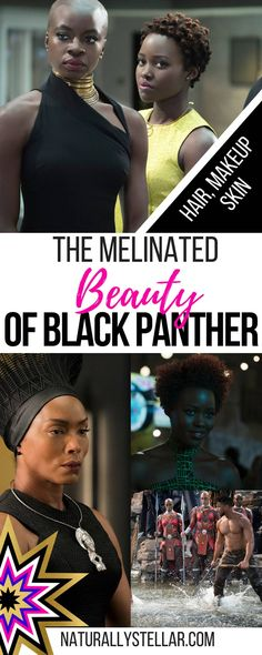 The Melinated Beauty Of Black Panther Was Everything ⋆ Naturally Stellar Black Art, Black Women Art, Black Girls Rock, Black Girl Magic, Natural Hair Care, Natural Hair Styles, My Black Is Beautiful, Beautiful Gowns, Beautiful People