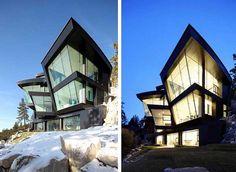 Lake House w Nevadzie (Mark Dziewulski Architects)