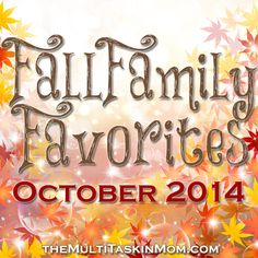 Fall Family Favorites Giveaway! - http://www.yearroundhomeschooling.com/fall-family-favorites-giveaway/