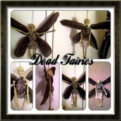 Dead evil fairies *very cheap to make* using dollar store skelleton