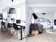 Hvit og sort