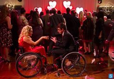 """Ali Stroker from Season 2's Glee Project guest stars on the Valentines Day episode """"I Do"""" as Betty (Emma's niece) & a new love interest for Artie!"""